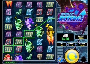 Обзор игрового автомата Apollo Rising