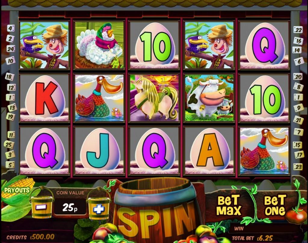 Обзор игрового автомата Barnyard Bucks