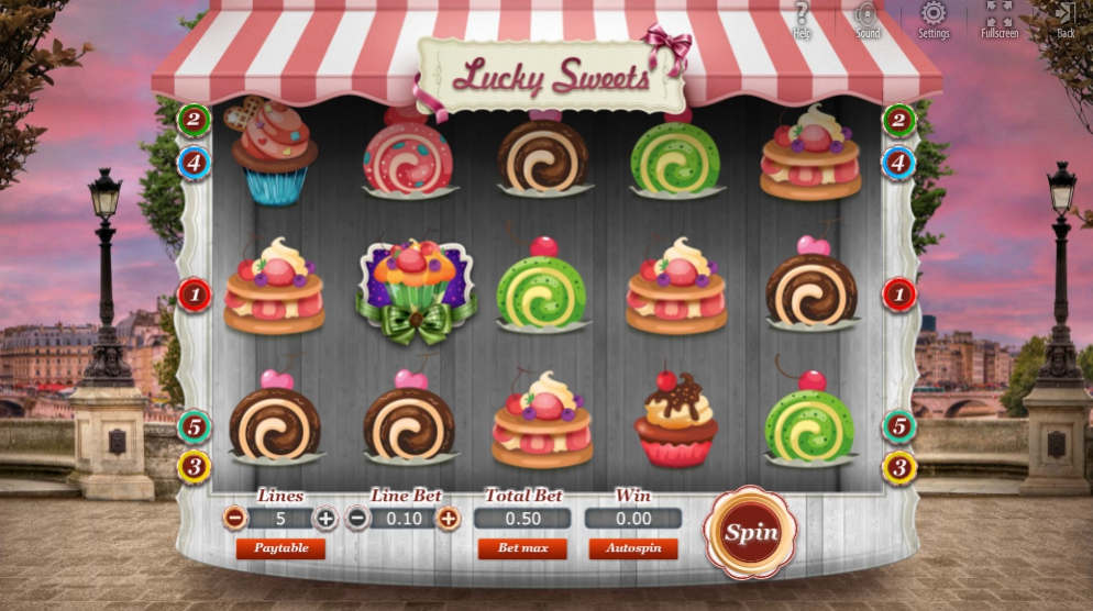 Обзор игрового автомата Lucky Sweets