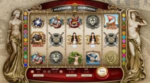 Обзор игрового автомата Platinum Lightning