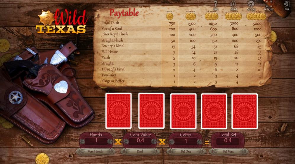 Обзор игрового автомата Wild Texas