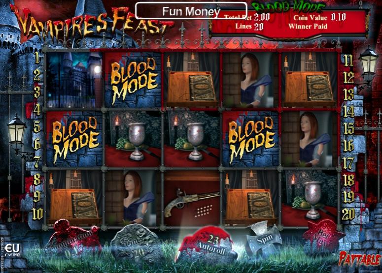 игровоq автомат Vampires Feast