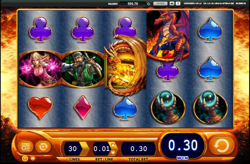игровой автомат Dragon's Inferno