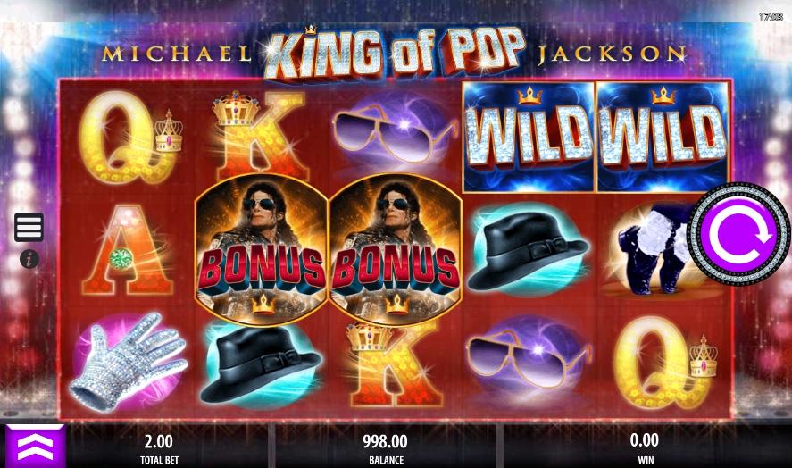 Игровой автомат Michael Jackson King of Pop