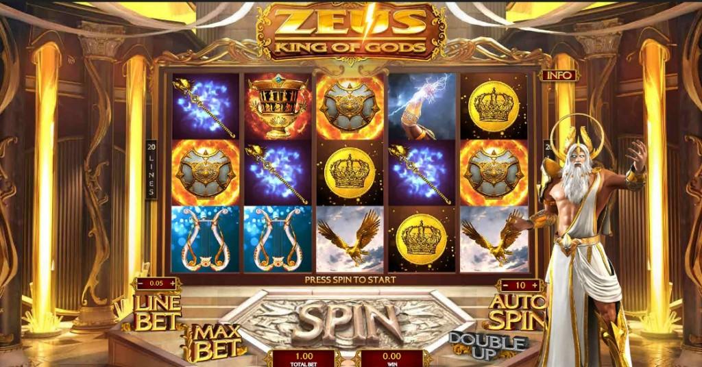 Игровой автомат Zeus King of Gods