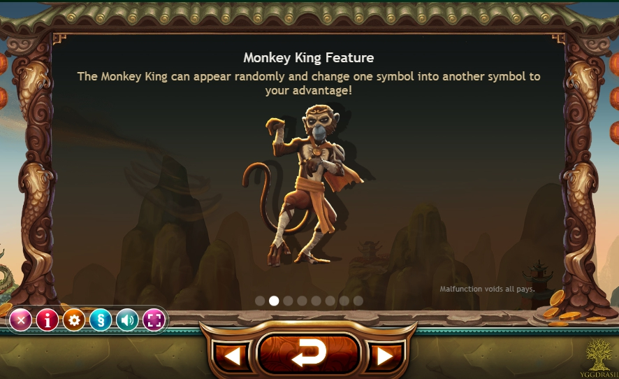 игровой автомат monkey king бонусы