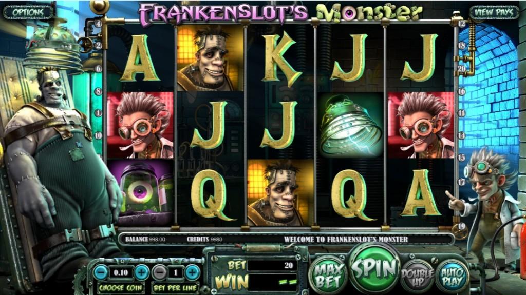 Обзор игрового автомата Frankenslots Monster