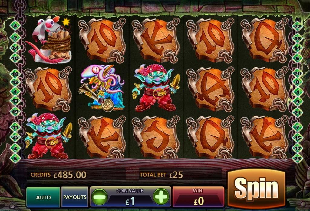 Обзор игрового автомата Goblins Hideout