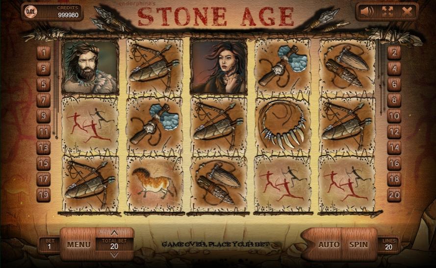Обзор игрового автомата Stone Age