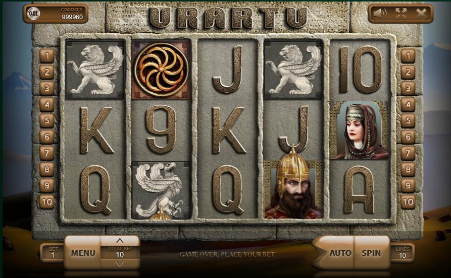 Обзор игрового автомата Urartu