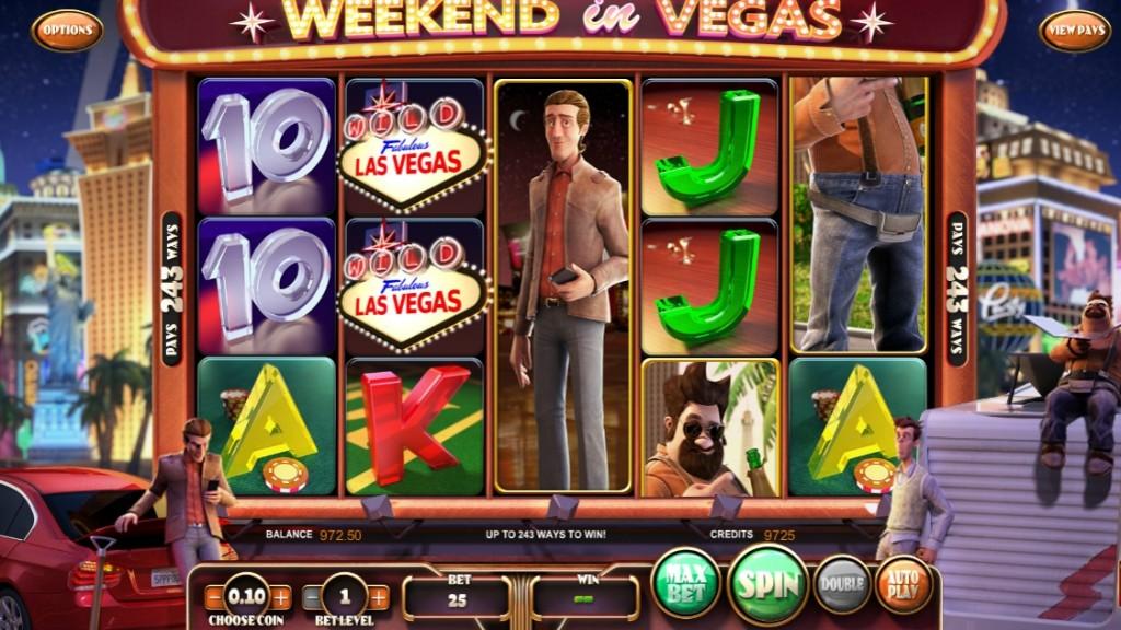 Обзор игрового автомата Weekend in Vegas