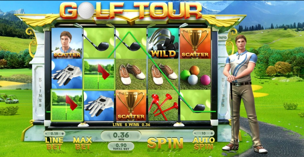 Игровой автомат Golf Tour