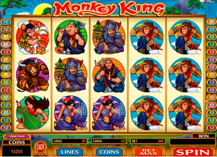 Monkey King от Microgaming